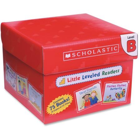 Scholastic Res. PreK Little Level B Readers Book Set Printed Book SHS0545067685