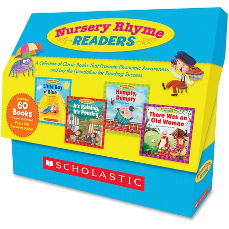 Scholastic Res. Nursery Rhyme Readers Book Collection Printed Book SHS054525020X