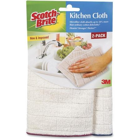 Scotch-Brite -Brite Microfiber Kitchen Cloth MMM90322CT