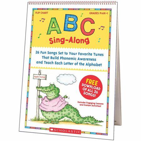 Scholastic Res. PreK-1 ABC Sing-Along Flip Chart SHS0439784395