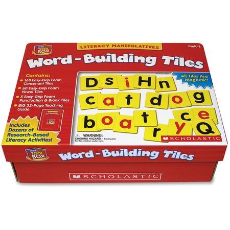 Scholastic Res. Pre K-2 Word-Building Tiles Tool Box SHS0439838657