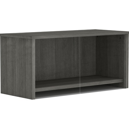 Wholesale Furniture Collection: Discounts on Lorell Weathered Charcoal Wall Mount Hutch LLR16241