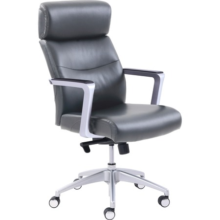 Wholesale Chairs & Seating: Discounts on La-Z-Boy High-back Leather Chair LZB49317GRY