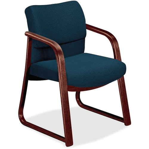 Base Guest Arm Chair Sled