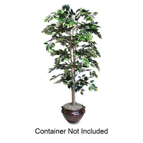 Impressive Artificial Green Ficus Tree Ft