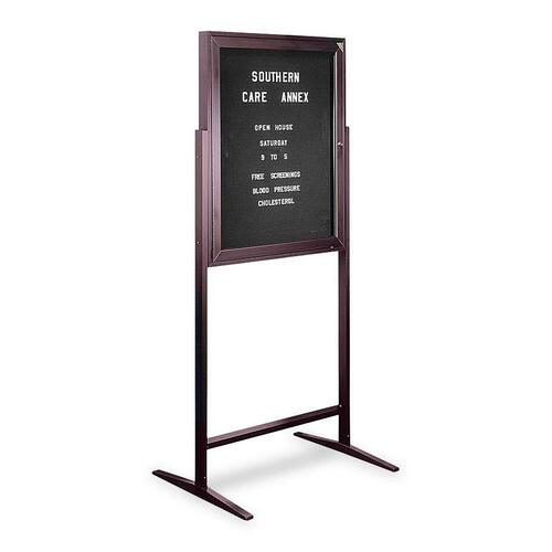 Free Standing Message Center Sentry