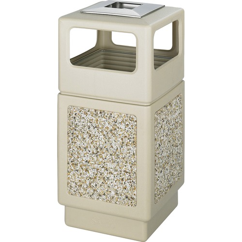 Excellent Aggregate Side Open Receptacle Ash Urn Canmeleon