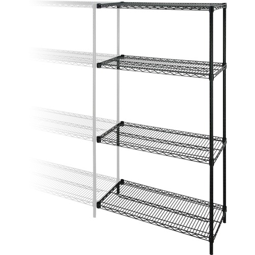 Money saving Adjustable Wire Shelving Add On Unit Industrial