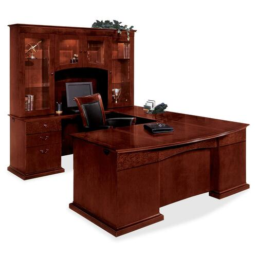Select Left U Bow Front Desk Executive Product picture - 11