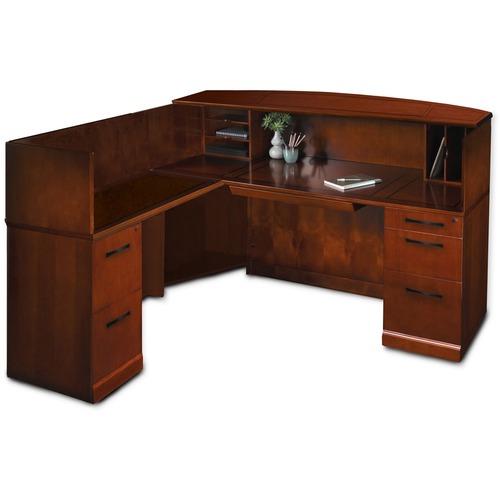 Select Srcsl Reception Desk Left Hand Return Sorrento Product picture - 7