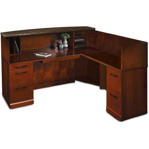 Purchase Srcsrm Marble Top Reception Desk Right Hand Return Sorrento