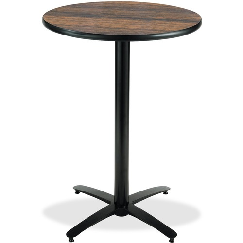 Beautiful B Bar Height Pedestal Utility Table Trd