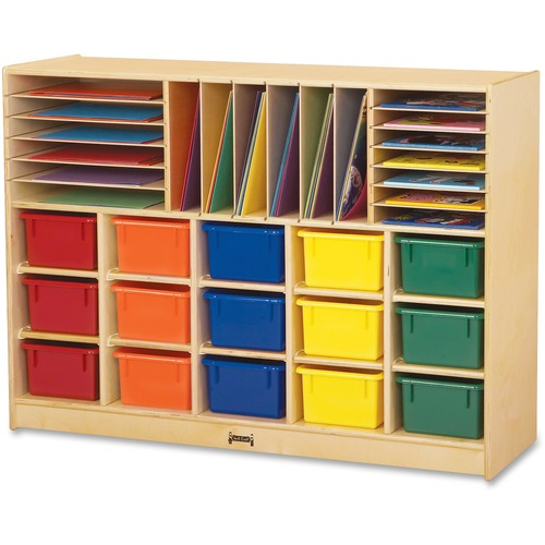 Best-selling Tray Sectional Cubbie Storage Colored