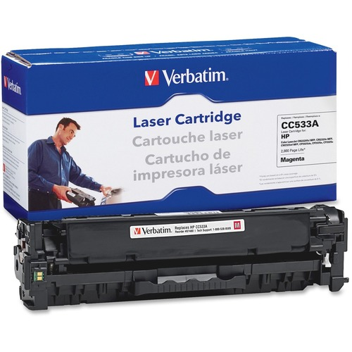 Verbatim HP CCA Magenta Remanufactured Laser Toner Cartridge Product image - 4294