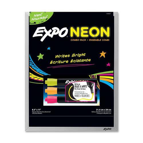 Expo Dry Erase Board With Neon Marker