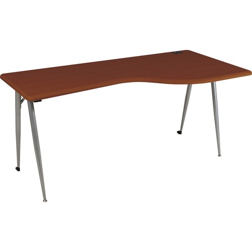 Exquisite Large Desk Right Cherry Iflex