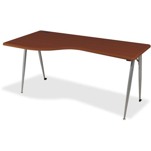 Tasteful Large Desk Left Cherry Iflex