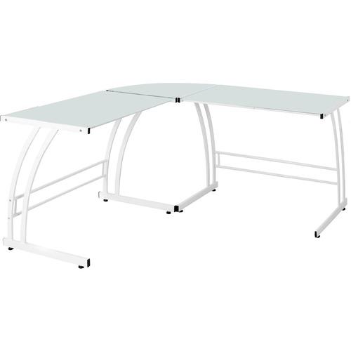 Lumisource Gamma Office Desk White L