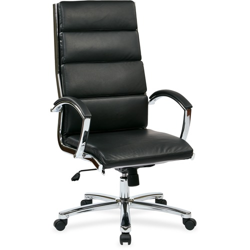 Search Back Executive Eco Leather Chair High