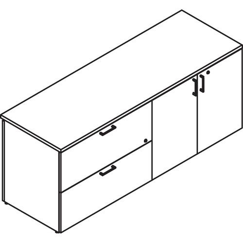 Stylish File Bookcase Credenza Lateral