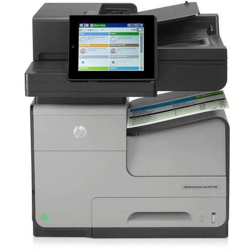 Select HP Officejet XF Inkjet Multifunction Printer Color Plain Paper Product picture - 32
