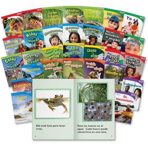 Spanish St Grade Book Set Education Printed Book Spanish Tfk Product image - 5460