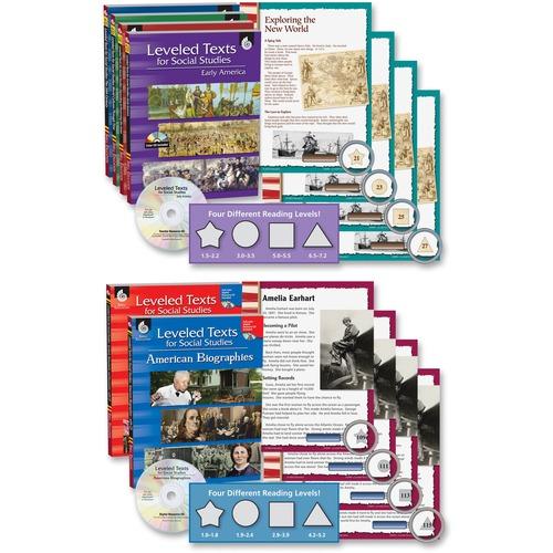 Money saving Studies Leveled Texts Bk Set Education Printed Electronic Book ial Studies Soc Product picture - 4350