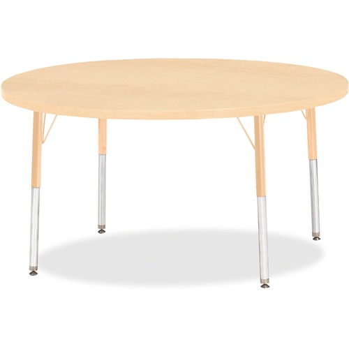Height Maple Top Edge Round Table Adult Product image - 14