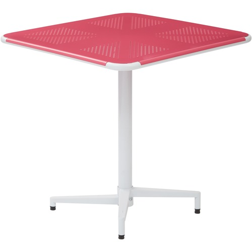 Order any Metal Square White Base Folding Table Alb