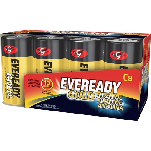 Outstanding Alkaline C Batteries Gold