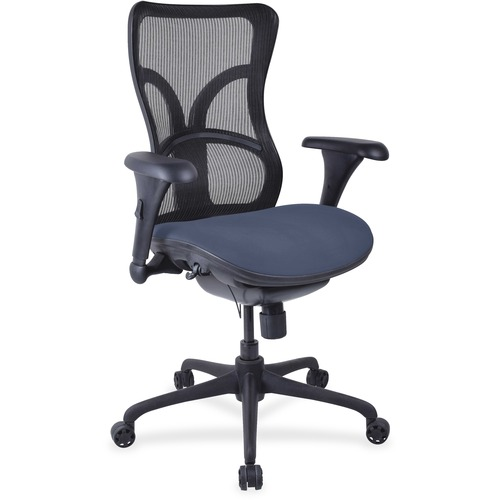 Magnificent Back Fabric Seat Chair High