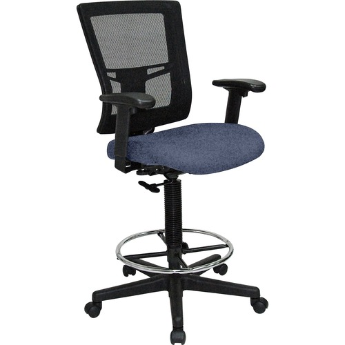 Affordable Back Drafting Stool Mesh