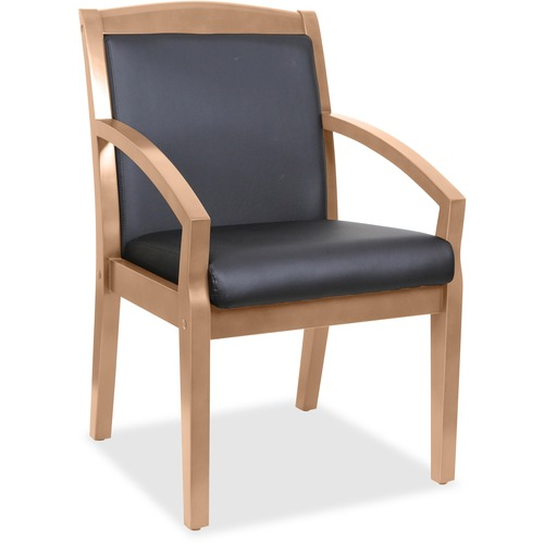 Learn more about Arms Wood Guest Chair Sloping