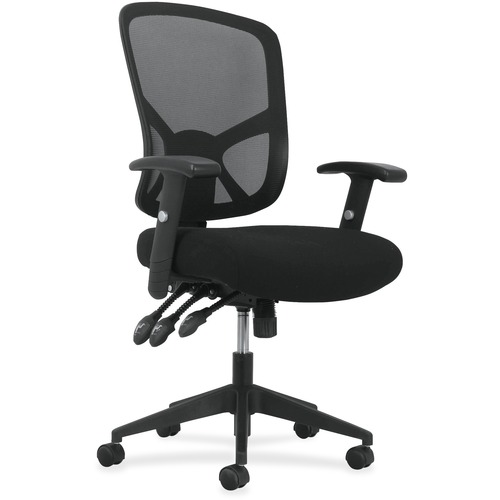 Learn more about Arms High Back Task Chair Adjustable