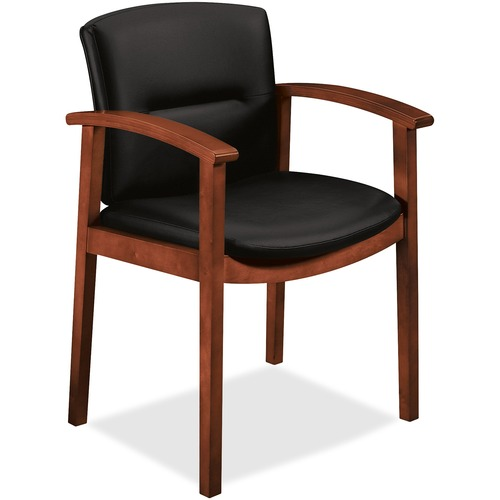 Stunning Avenue Coll Wood Frame Guest Chair Park