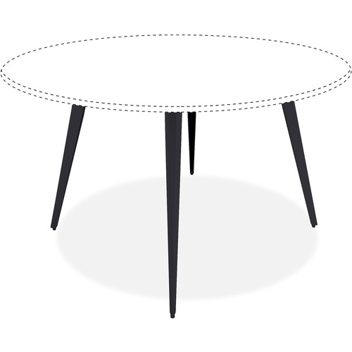 Serious Conference Table Steel Base Round Product picture - 4300