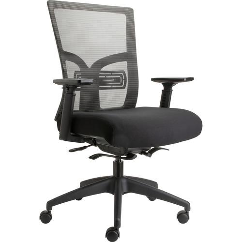 Stylish Back Mesh Chair Adjustable Lumbar Support Mid