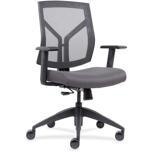 Ultimate Back Chairs Wth Mesh Back Fabric Seat Mid