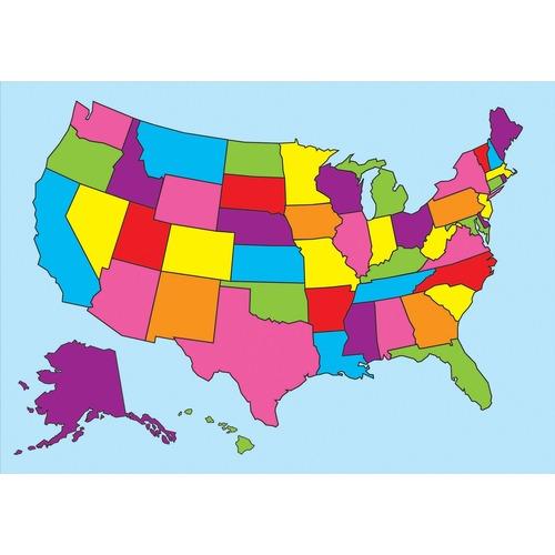 Ashley Magnetic United States Map - 12
