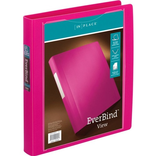 Office Depot EverBind View Binder With One-Touch EasyOpen