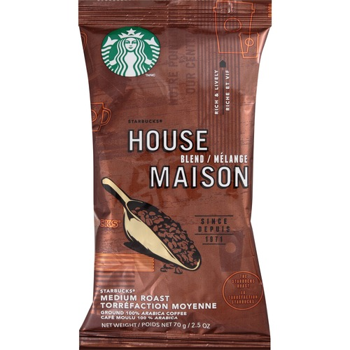 Starbucks House Blend Medium Roast Ground Coffee - Zerbee
