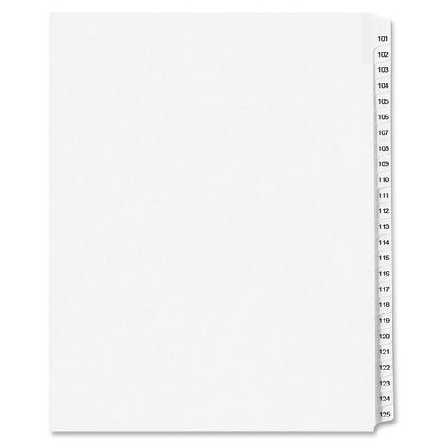 Avery Standard Collated Legal Exhibit Divider Sets - Avery Style AVE01334