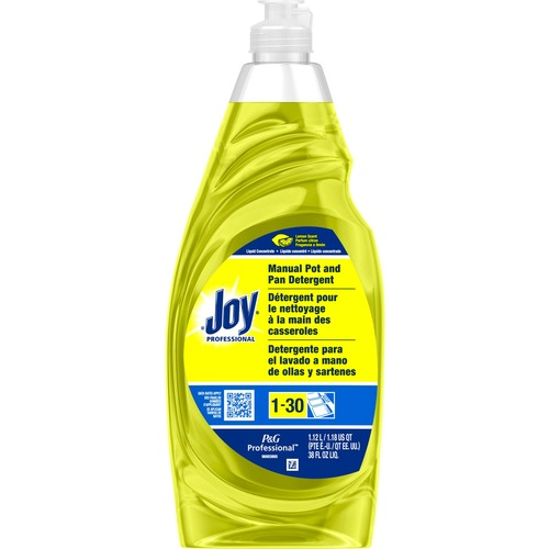 Joy Lemon Dish Liquid - Liquid - 0.30 gal (38 fl oz) - Lemon Scent - 1 Each