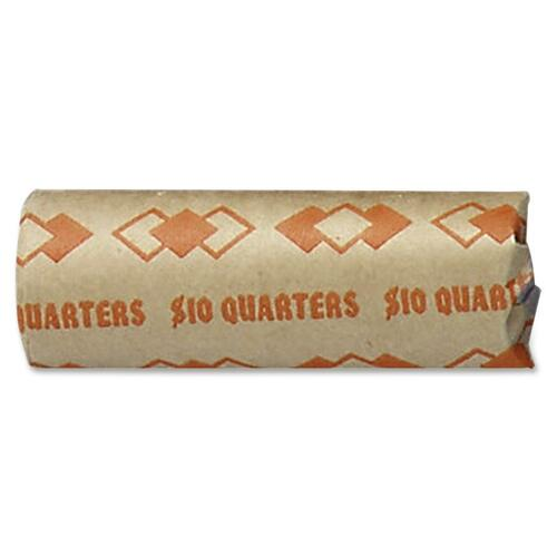New Coin-Tainer Company Preformed Tubular Quarter Coin Wrappers 1000 ct