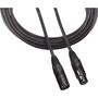 Audio-Technica XLRF - XLRM balanced microphone cable. 3' (0.9 m) length