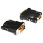 CLEARLINKS CL-HDMI/DVI-FM Premium Gold Female HDMI to Male DVI (24+1) Adapter