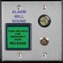 Alarm Controls DE-1 Push Button