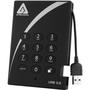 "Apricorn Aegis Padlock A25-3PL256-500 500 GB 2.5"" External Hard Drive"
