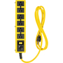Woods 6 Outlet 6' Metal Yellow Jacket Strip