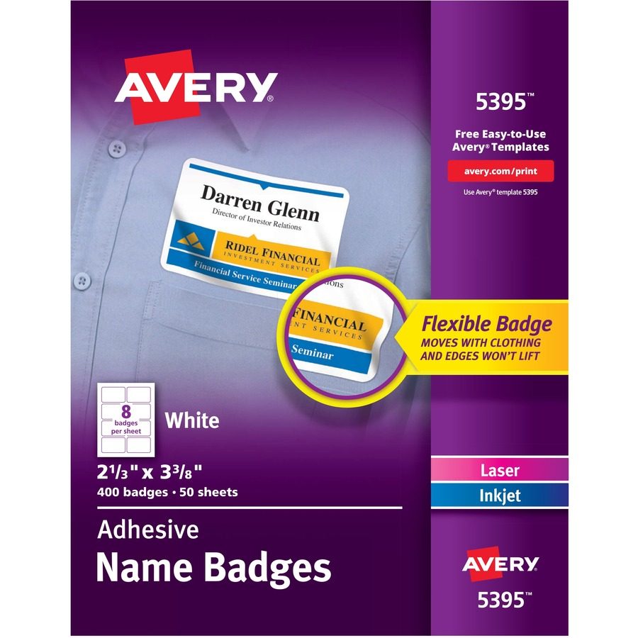 avery 5395 avery name badge label ave5395 ave 5395 office